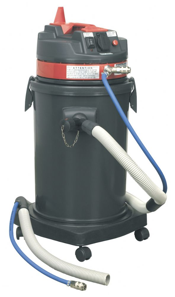 Dust-Free Vacuum System without Tool Air/Electric.